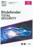 Bitdefender Total Security 2020 5 Geräte/18Monate, 1 Code in a Box