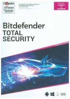 Bitdefender Total Security 2020 (3 Geräte/18Monate)