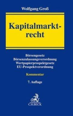 Kapitalmarktrecht - Groß, Wolfgang