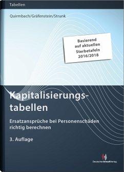 Kapitalisierungstabellen - Quirmbach, Sebastian; Gräfenstein, Helmut; Strunk, Valeska