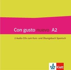 Kurs- und Übungsbuch, 2 Audio-CD / Con gusto nuevo A2