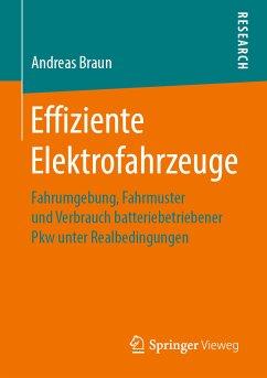 Effiziente Elektrofahrzeuge (eBook, PDF) - Braun, Andreas