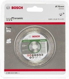 Bosch DIA-TS 76x10 Best Ceramic Diamanttrennscheibe