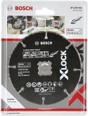 Bosch X-LOCK Carbide Multiwheel 125mm