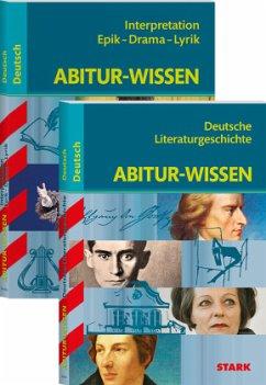 STARK Abitur-Wissen Deutsch - Literaturgeschichte + Interpretationen Epik, Drama, Lyrik - Gigl, Claus; Winkler, Werner