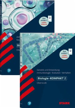 STARK Biologie-KOMPAKT - Band 1 und 2 - Triebel, Hans-Dieter