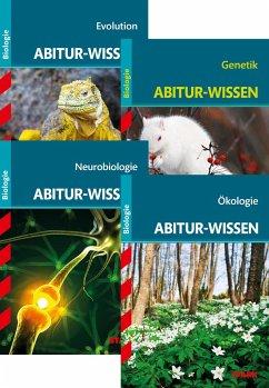 STARK Abitur-Wissen Biologie Bände 1-4 - Kappel, Thomas; Kollmann, Albert; Kunze, Henning; Müller, Ole