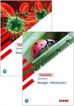 STARK Training Gymnasium- Biologie Mittelstufe Band 1+2 - Rojacher, Jürgen; Steinhofer, Harald