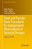 Rank and Pseudo-Rank Procedures for Independent Observations in Factorial Designs (eBook, PDF)