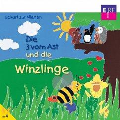 Die 3 vom Ast und die Winzlinge (14) (MP3-Download) - zur Nieden, Eckart