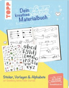 Dein kreatives Bullet-Journal-Materialbuch - frechverlag