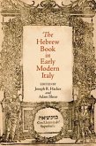 The Hebrew Book in Early Modern Italy (eBook, ePUB)