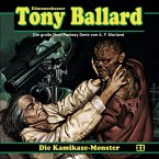 Tony Ballard, Folge 21: Die Kamikaze-Monster (MP3-Download)