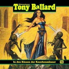 Tony Ballard, Folge 24: In den Klauen der Knochenmänner (MP3-Download) - Birker, Thomas; Morland, A. F.