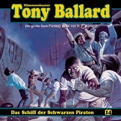 Tony Ballard, Folge 14: Das Schiff der schwarzen Piraten (MP3-Download) - Streb, Alex; Morland, A. F.; Birker, Thomas