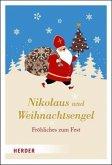 Nikolaus und Weihnachtsengel (Mängelexemplar)