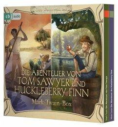 Die Abenteuer von Tom Sawyer und Huckleberry Finn, 6 Audio-CD - Twain, Mark
