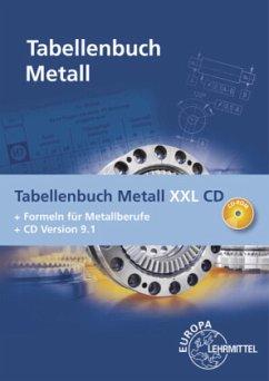 Tabellenbuch Metall XXL, m. CD-ROM - Gomeringer, Roland;Kilgus, Roland;Menges, Volker