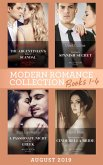 Modern Romance August 2019 Books 1-4: The Argentinian's Baby of Scandal (One Night With Consequences) / The Maid's Spanish Secret / A Passionate Night with the Greek / Contracted as His Cinderella Bride (eBook, ePUB)