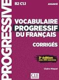 Vocabulaire progressif du français. Niveau avancé - 3ème édition. Corrigés