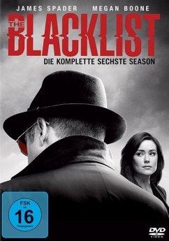 The Blacklist - Die komplette sechste Season DVD-Box