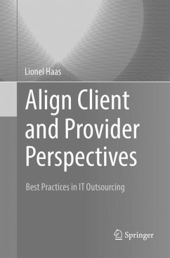 Align Client and Provider Perspectives - Haas, Lionel