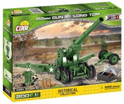 COBI Historical Collection 2394 - Gun M1 Long Tom 155mm, WWII, Bausatz, 200 Teile