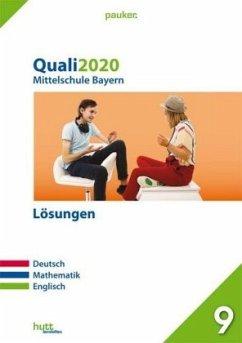 Quali 2020 - Mittelschule Bayern, m. Audio-CD