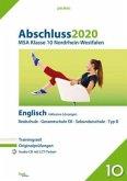 Abschluss 2020 - Mittlerer Schulabschluss. Englisch. Nordrhein-Westfalen