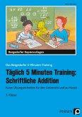 Täglich 5 Minuten Training: Schriftliche Addition