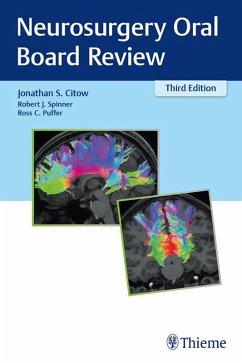 Neurosurgery Oral Board Review (eBook, ePUB)
