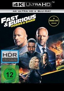Fast & Furious: Hobbs & Shaw 4K Ultra HD Blu-ray + Blu-ray - Dwayne Johnson,Jason Statham,Idris Elba