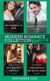 Modern Romance September Books 1-4: His Cinderella's One-Night Heir (One Night With Consequences) / Irresistible Bargain with the Greek / His Forbidden Pregnant Princess / Consequences of a Hot Havana Night (eBook, ePUB)