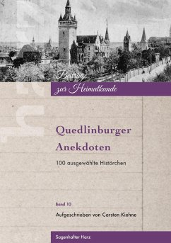 Quedlinburger Anekdoten (eBook, ePUB)