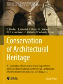 Conservation of Architectural Heritage (eBook, PDF)