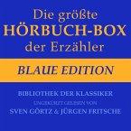 Die größte Hörbuch-Box der Erzähler: Blaue Edition (MP3-Download)