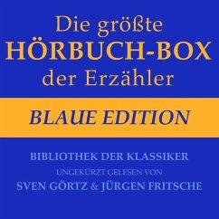 Die größte Hörbuch-Box der Erzähler: Blaue Edition (MP3-Download) - Poe, Edgar Allen; Zweig, Stefan; Storm, Theodor