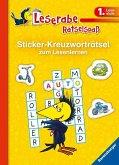 Sticker-Kreuzworträtsel zum Lesenlernen (1. Lesestufe) (Mängelexemplar)