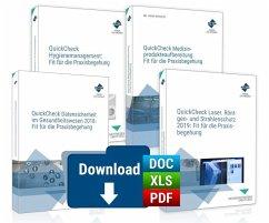 QuickCheck-Reihe: Fit für die Praxisbegehung, m. 1 Beilage, m. 1 Online-Zugang, 3 Teile - Forum Verlag Herkert GmbH