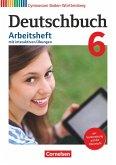 Deutschbuch Gymnasium - Baden-Württemberg - Bildungsplan 2016. Bd 6: 10. Schuljhr - Arbeitsheft mit interaktiven Übungen