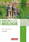 Fachwerk Biologie - Sachsen. 5. Schuljahr - neuer Lehrplan - Arbeitsheft - Neubearbeitung