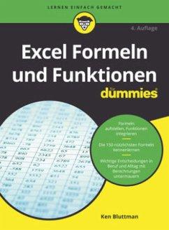 Excel Formeln und Funktionen für Dummies - Bluttman, Ken