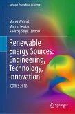 Renewable Energy Sources: Engineering, Technology, Innovation (eBook, PDF)