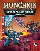 Pegasus 17015G - Munchkin Warhammer 40.000, Kartenspiel, Würfelspiel, Familienspiel