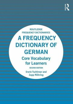 A Frequency Dictionary of German - Tschirner, Erwin; Möhring, Jupp
