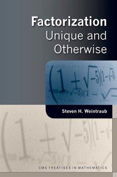 Factorization (eBook, PDF) - Weintraub, Steven H.