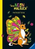 Mein Neon-Malbuch: Fantasietiere (Mängelexemplar)