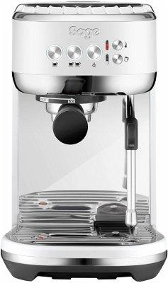 Sage Espresso Maschine Bambino Plus matt weiß
