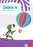 Zebra 4. Arbeitsheft Sprache