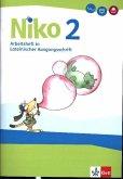 Niko Sprachbuch 2. Arbeitsheft in Lateinischer Ausgangsschrift LAS